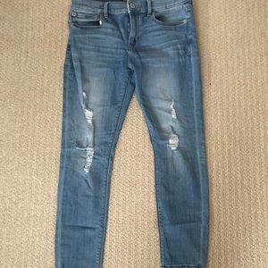 Express jeans baby, best in the biz